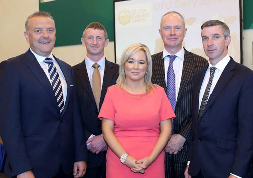 Industry Speakers at UFU dairy summit